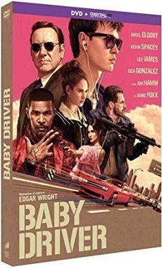 Baby Driver [DVD + Digital UltraViolet]: Amazon.fr: Ansel Elgort, Kevin Spacey, Lily James, Eiza Gonzales, Jon Hamm, Jamie Foxx, Edgar Wright: DVD & Blu-ray
