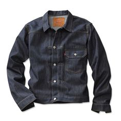 I had one like this until I outgrew it, then I just cut off this sleeves and wore it as a vest. Just found this Levis+Jean+jacket Levis Jean Jacket, Denim Jacket Men, Men Shorts, Men's Denim, Denim Jackets, Leather Jackets, Nudie Jeans, Men's Jeans, Blue Jeans