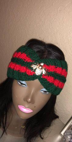 ffc40a98fa56 45%OFF Gucci headband style Gucci inspired bandana green
