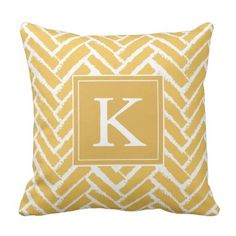 Personalize Trendy Herringbone Sample Pillow. ** Discover even more by clicking the picture
