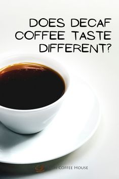 The popularity of coffee remains untainted for centuries. Many of us enjoy a regular cup of joe but need to avoid caffeine due to health issues, overconsumption, or even the time of day. In such cases, decaf coffee can be the answer. Usually, before people switch from their favorite morning pick-me-up to a low-caffeine alternative they seem to wonder if decaf coffee tastes differently? #coffee Coffee Cream, Coffee Type, Black Coffee, Coffee Canister, Coffee Spoon, Coffee Cans, Types Of Coffee Beans, Different Types Of Coffee, Decaf Coffee