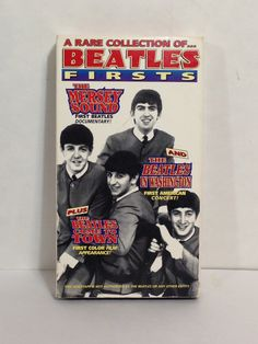 A Rare Collection Of BEATLES FIRSTS The Mersey Sound First Beatles Documentary First American Concert First Color Film Appearance VHS Movie by NostalgiaRocks