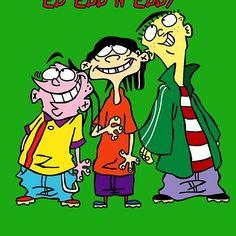 Ed Edd n Eddy Happy Ed And Eddy, Ed Edd N Eddy, Retro Cartoons, Old Cartoons, Doodle Drawings, Cartoon Drawings, Early 2000s Tv Shows, Du Dudu E Edu, Old Cartoon Shows