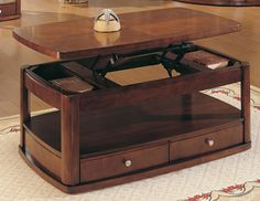 Homelegance Trishaw Rect Lift-Top Cocktail Table Price: $454.00