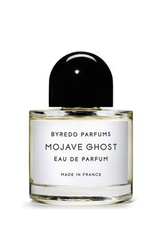 Inspired by the ghost flower that blooms in the extreme conditions of America's Mojave Desert, Byredo's latest scent is a delicate concoction that combines top notes of Jamaican nesberry and ambrette with a heart of violet, sandalwood and magnolia before revealing musk, amber and cedarwood.