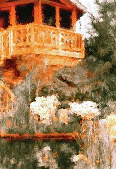 Impressionist Landscape, Landscape Paintings, Philadelphia Flower Show, Cafe Art, Flower Landscape, Lily Pond, Contemporary Wall Art, Oil Painting On Canvas, Creative Art