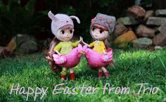 Happy Easterness from Stacey and Laurinda xx | por Trio Blythe
