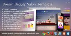 Dream - Beauty Salon Responsive Joomla Template