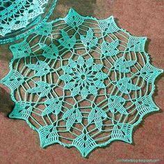 Crochet - Simple Crochet Doily Pattern Free   Crochet Art   Bloglovin'