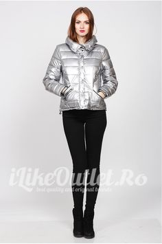 Short silver jacket- VERO MODA