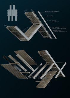 Modular Pavilion / Prechteck,details