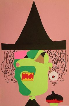 if picasso made witches...3rd grade