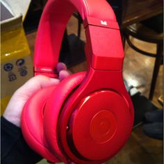 Monster × Dr Dre Headphone Orizinal Color All Mad Red Sell My Shop. soon