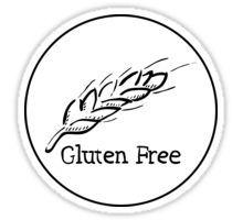 Gluten Free Hand-Drawn Wheat Sticker