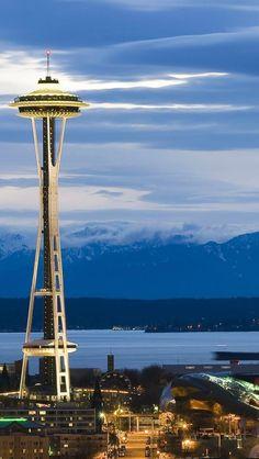 Seattle Night ,  Seattle , Washington !!