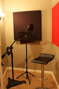I do not intend for a career in singing but I most definitely need one of these in my home, I would love to have my own place to go sing my heart out.