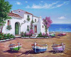 'Spanish coast'. Kulagin Oleg