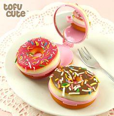 Squishy Scented Doughnut Mirror