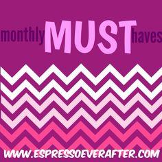 Monthly MUST Haves – November 2015 .... Espresso Ever After shares favorite products! www.espressoeverafter.com