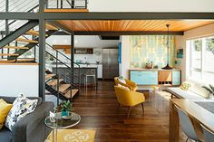 Modern eclectic Phinney Ridge House in Seattle