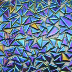 irregular kitchen backsplash | Mosaic] Iridescent Irregular glass mosaic tile for kitchen backsplash ...
