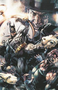 "Mico Suayan - Batman in ""Arkham Unhinged"""