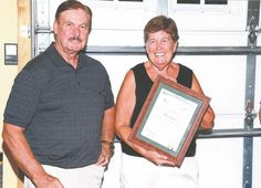 Retired Onslow County Clerk of Court Bettie Gurganus was awarded the Order of the Long Leaf Pine, one of the state's highest honors, for her almost
