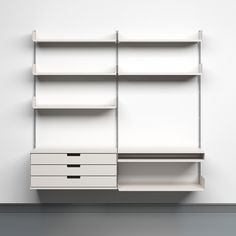 606 Universal Shelving System for Vitsœ - 1960; designed 52 years ago... can you imagine?