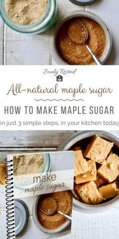 How to Make Maple Sugar in Your Own Kitchen SoulyRested Maple Syrup Taps, Maple Syrup Recipes, Tomato Cream Sauces, Pan Seared Salmon, Survival Food, Homestead Survival, Pork Tenderloin Recipes, Camping Meals, Camping Recipes