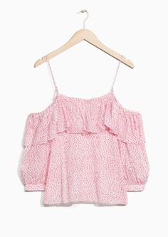& Other Stories   Frilled Blouse