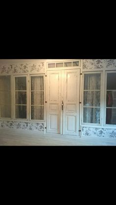 Walk In Closet, China Cabinet, Windows, Doors, Storage, Outdoor Decor, Wall, House, Furniture