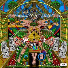 """Vitruvian Man"" by Ivi Mo"