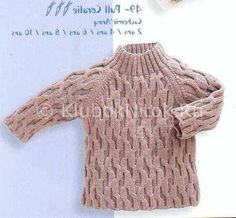 Клёвый свитер | Вязание для детей | Вязание спицами и крючком. Схемы вязания.