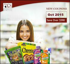 Newest Printable Coupons Oct 2015: Save Up To $590