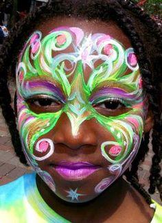 mardi gras makeup | Mardi Gras Mask