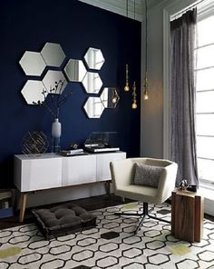 modern wall mirrors for living room. candlestick pendant lamps and swarm mirrors  new favs 28 Unique Stunning Wall Mirror Designs for Living Room