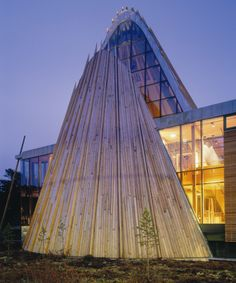 The parliament building of Sami people, Norway with  Pilkington Suncool™ 66/33 high performance solar control glass.