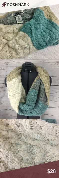 CCO Anthropologie Curio wool blend infinity scarf Anthropologie Curio infinity multi-color knit wool blend scarf. EUC Anthropologie Accessories Scarves & Wraps