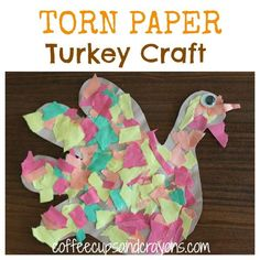 Looking for a super easy, super fun Thanksgiving craft?  Have kids of different ages and