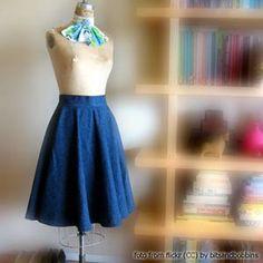 Выкройки женской одежды. Юбка-клеш солнце. | Иллюстрированные курсы по кройке и шитью. Как сшить юбку клеш солнце? Выкройка юбки клеш солнце.