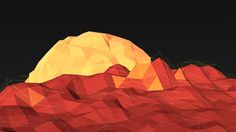 Planetscape Low Poly Scene using Blender 2560x1440 Wallpaper, R Wallpaper, Cool Iphone 6 Cases, Low Poly, Scene, Inspiration, Facebook, Twitter, Instagram