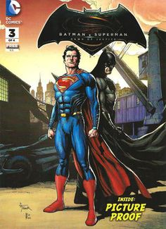 Cover for General Mills Presents Batman v Superman: Dawn of Justice #3 (2016)