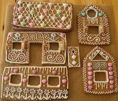 Ginger bread house parts year 2005 by Vakuoli, via Flickr