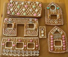 Ginger bread house ideas.