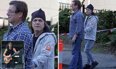 AC/DC rocker Malcolm Young looks frail on walk in Sydney