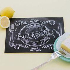 Bon Appetit - Print - Lily & Val