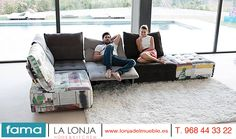"""Empezamos a deslumbrar novedades para este año 2016 como el  modelo Urban de Fama Sofás, fabricante español y de la Región de Murcia; pertenece  a la """"Vintage Collection 2016"""" que incluye la opción de módulos relax motorizados. ¿Quieres saber más sobre novedades en mobiliario y decoración ¡ Ven  a La  Lonja home & Kitchen en Lorca ! ¡ te esperamos ! Feliz fin de Semana"""