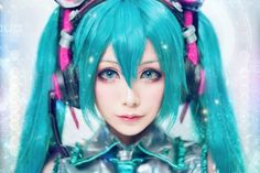 Cosplayer: Mon Cosplay.Country: Taiwan.Cosplay: Miku Hatsune from Vocaloid.Photos by: TRTK Photo.https://www.facebook.com/monpink1215/