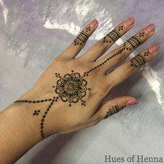 delicate henna - Henna Muster Fur Anfanger