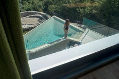 Dreaming of summer ... cantilevered pool